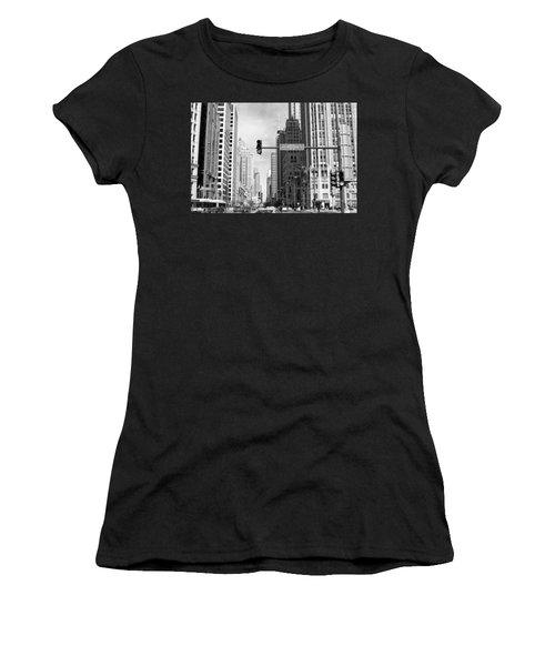 Michigan Ave - Chicago Women's T-Shirt