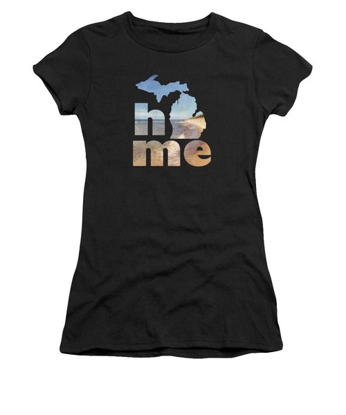 Michigan Home Women's T-Shirt (Athletic Fit)