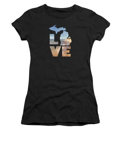 Michigan Love Women's T-Shirt