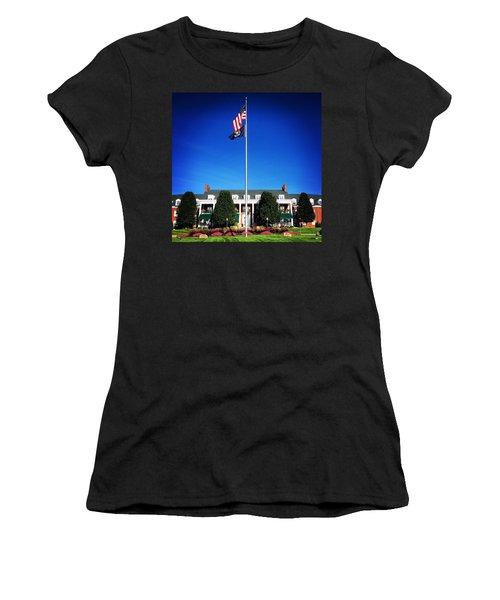 Michigan Masonic Home Women's T-Shirt (Athletic Fit)