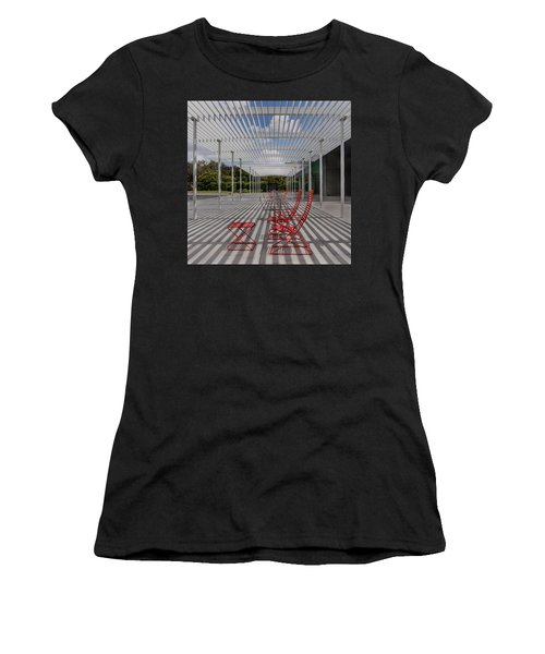Women's T-Shirt featuring the photograph Mid-day Lines by James Woody