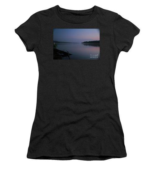Midnite Blue Women's T-Shirt (Athletic Fit)