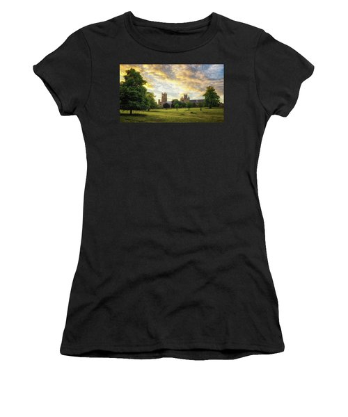 Midsummer Evening In Ely Women's T-Shirt (Athletic Fit)