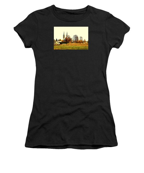 Miedzierza Church Women's T-Shirt (Athletic Fit)