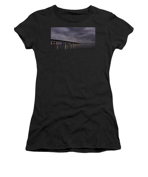 Women's T-Shirt featuring the photograph Mighty Mac 1 by Heather Kenward