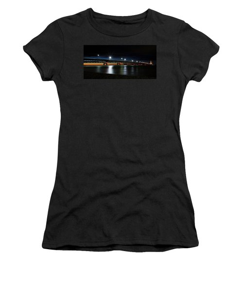 Women's T-Shirt featuring the photograph Mighty Mac 4 by Heather Kenward