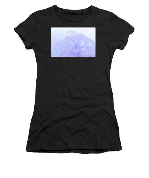 Miharu Takizakura Weeping Cherry01 Women's T-Shirt (Athletic Fit)