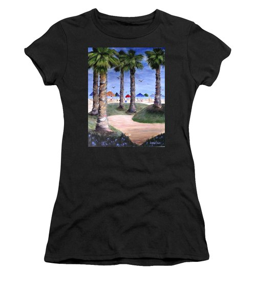 Mike's Hermosa Beach Women's T-Shirt (Athletic Fit)