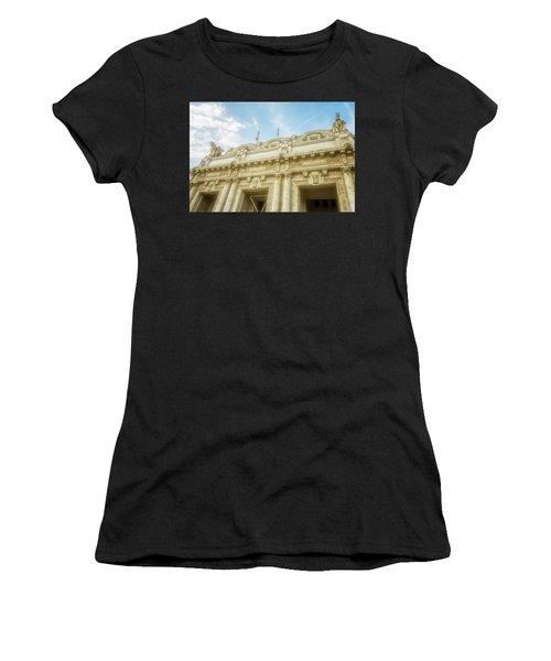Milan Italy Train Station Facade Women's T-Shirt