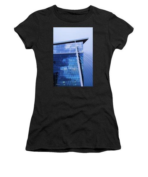 Milennium Bridge Spire Women's T-Shirt (Athletic Fit)