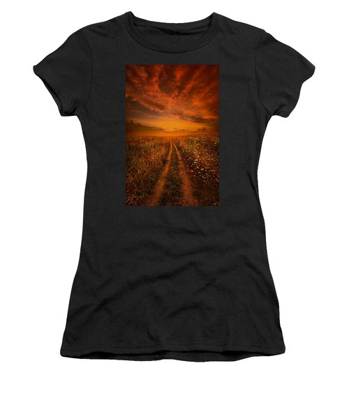 Miles And Miles Away Women's T-Shirt
