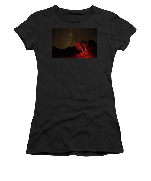 Milky Way And Juniper Women's T-Shirt