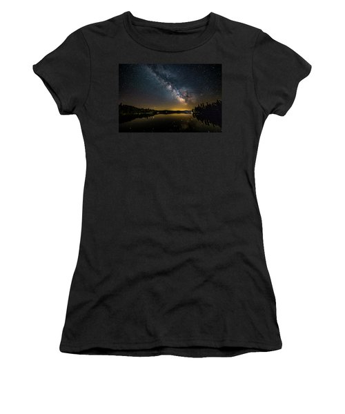 Milky Way At Hunter Cover Women's T-Shirt