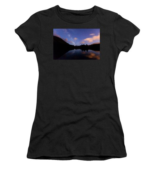 Milky Way At Snoqualmie Pass Women's T-Shirt