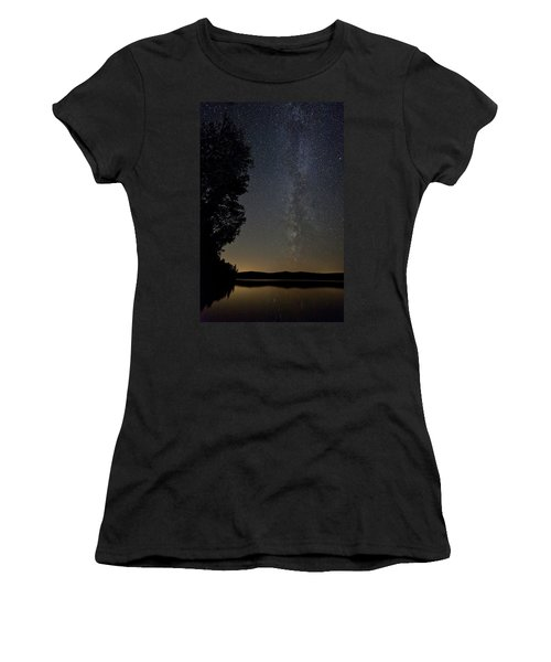 Milky Way Chocorua Lake Women's T-Shirt