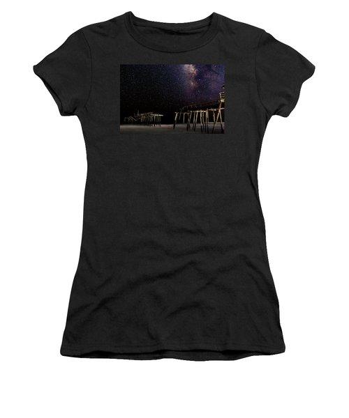 Milky Way Over Frisco Women's T-Shirt