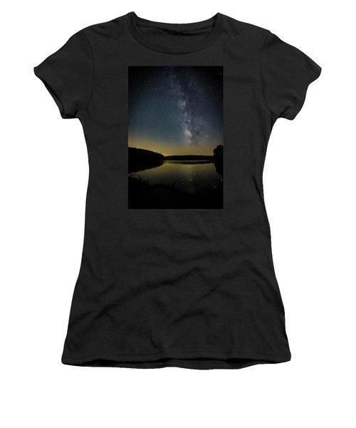 Milky Way Over Price Lake Women's T-Shirt