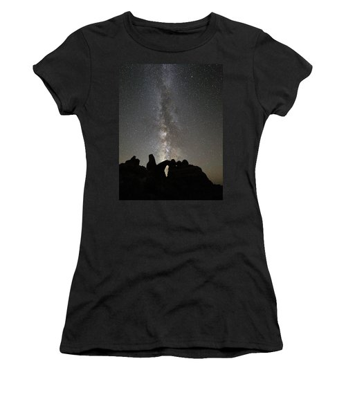 Milky Way Over Turret Arch Women's T-Shirt