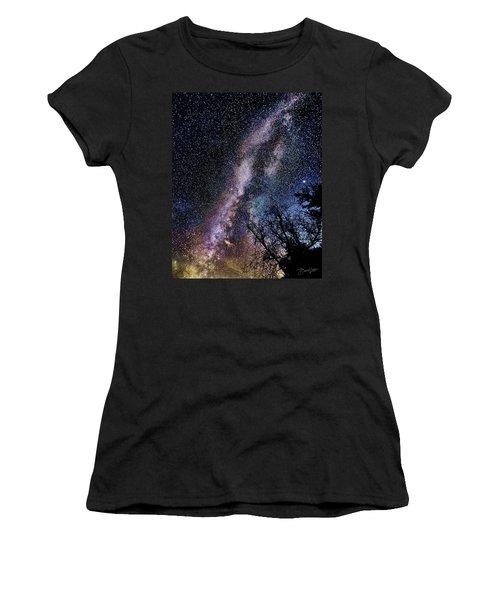Milky Way Splendor Women's T-Shirt (Athletic Fit)