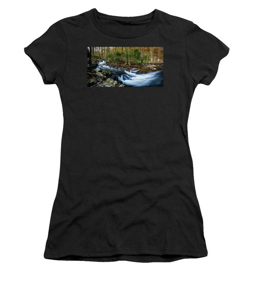 Mill Creek In Fall #2 Women's T-Shirt (Athletic Fit)