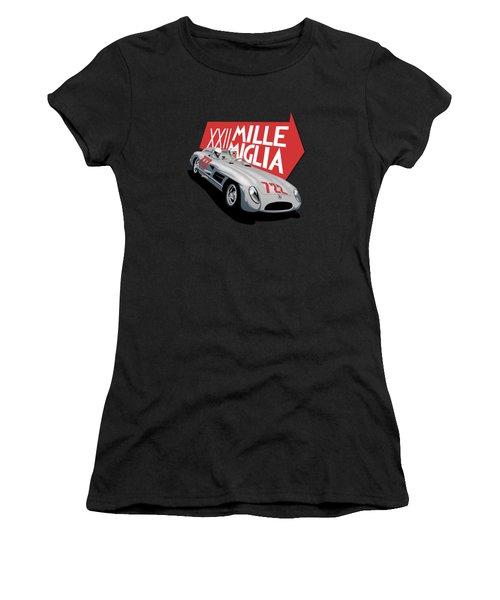 Mille Miglia Xxii 1955 Women's T-Shirt