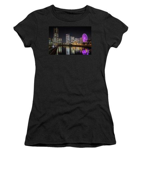 Minato Mirai At Night Women's T-Shirt