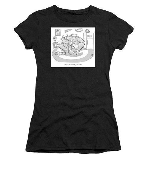 Mind If I Put The Game On Women's T-Shirt