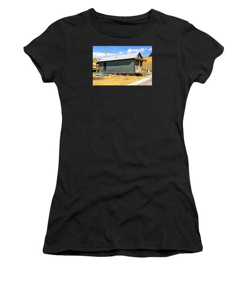 Miners Shack In Montana Women's T-Shirt