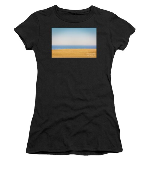 Minimal Lake Ontario Women's T-Shirt (Athletic Fit)