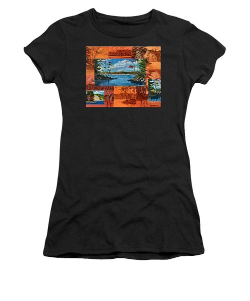 Mink Lake Looking North West Women's T-Shirt