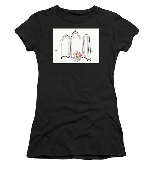 Sketch Mirror Women's T-Shirt (Athletic Fit)