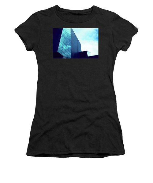 Mirror Building 1 Women's T-Shirt (Athletic Fit)