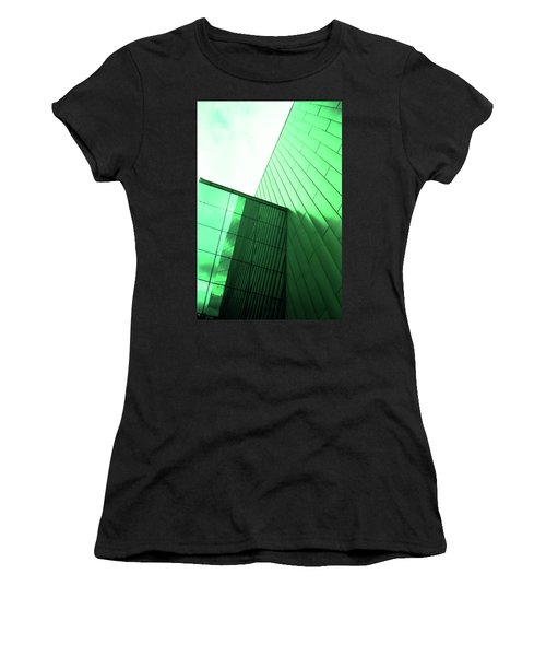 Mirror Building 2 Women's T-Shirt (Athletic Fit)