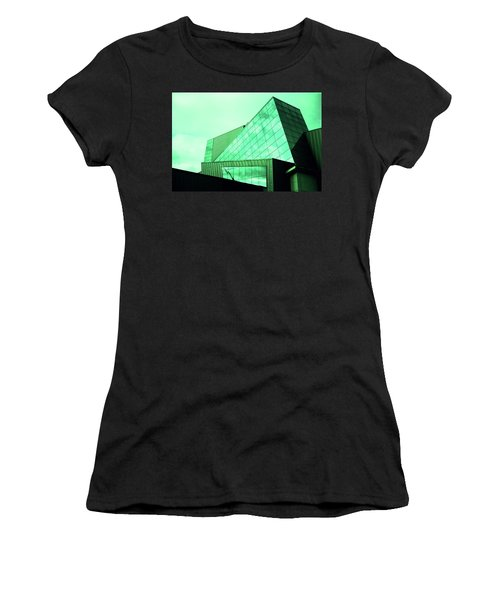 Mirror Building 3 Women's T-Shirt (Athletic Fit)