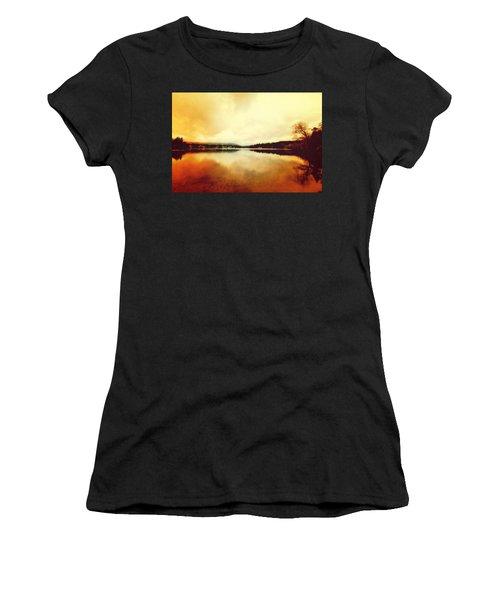 Mirror Lake At Sunset Women's T-Shirt