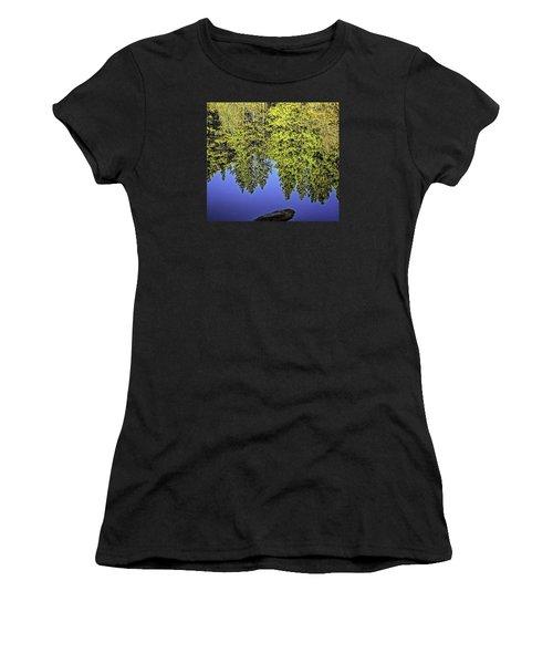 Mirror Mirror-2 Women's T-Shirt (Athletic Fit)