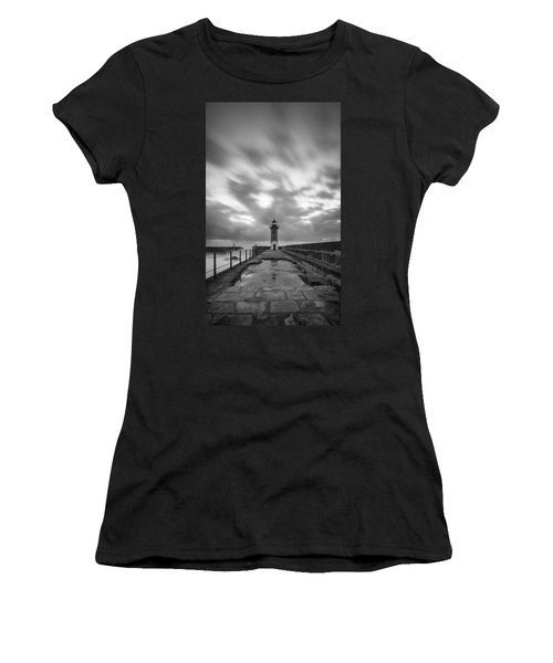 Women's T-Shirt featuring the photograph Mirror Mirror Is Water The Reason Of It All.. by Bruno Rosa