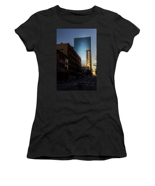 Mirror Reflection Of Peachtree Plaza Women's T-Shirt