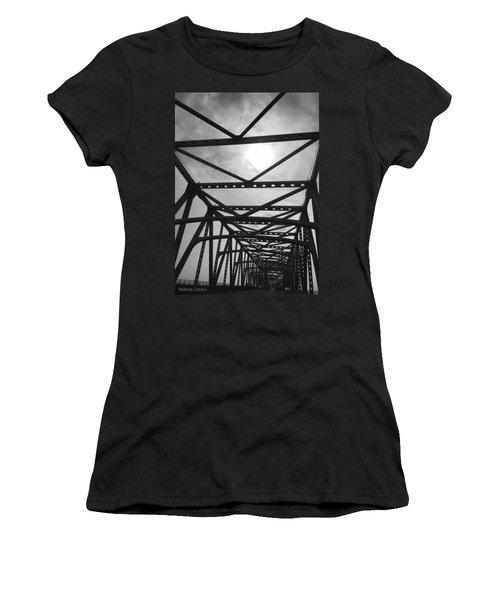 Mississippi River Bridge Women's T-Shirt