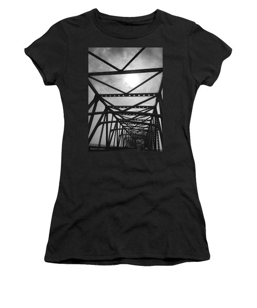 Mississippi River Bridge Women's T-Shirt
