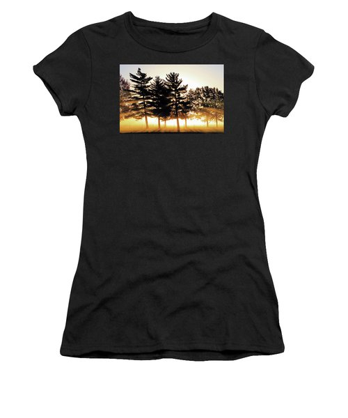Missouri Tree Line Women's T-Shirt (Junior Cut) by Christopher McKenzie