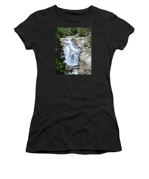 Mist Falls Women's T-Shirt (Athletic Fit)