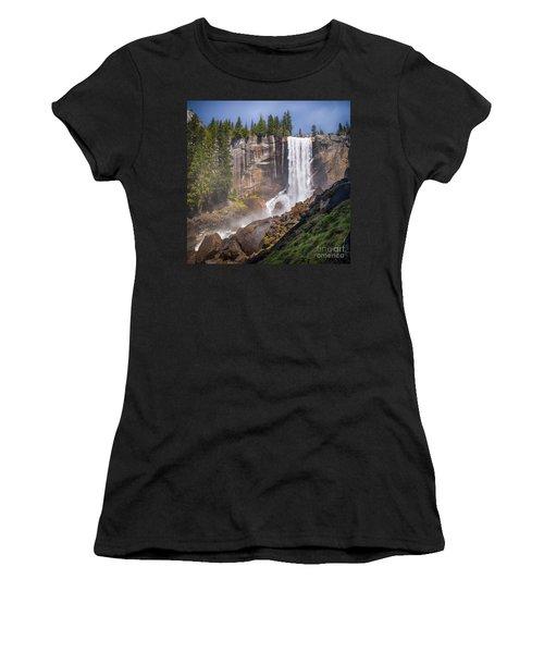 Mist Trail And Vernal Falls Women's T-Shirt