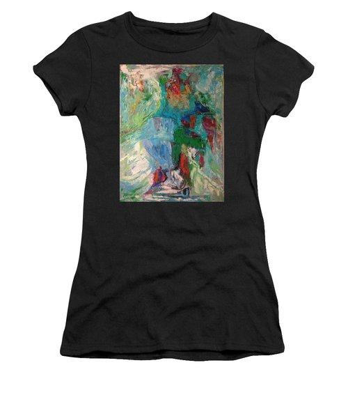 Misty Depths Women's T-Shirt (Athletic Fit)