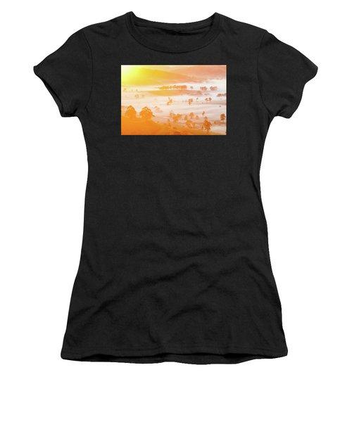 Misty Mornings Women's T-Shirt