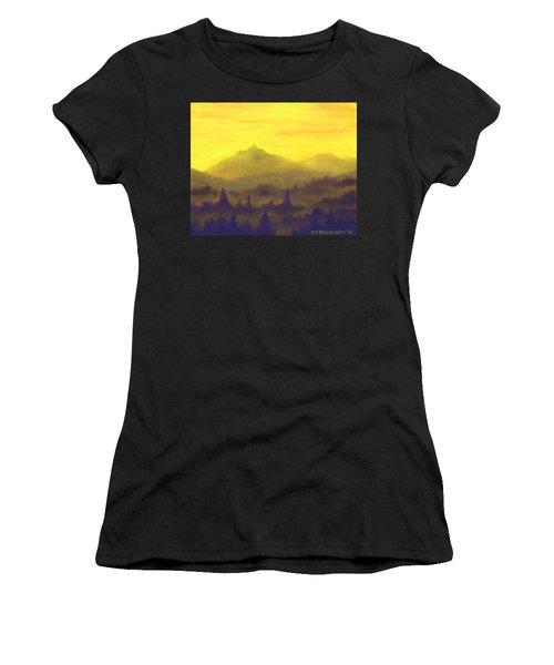 Misty Mountain Gold 01 Women's T-Shirt