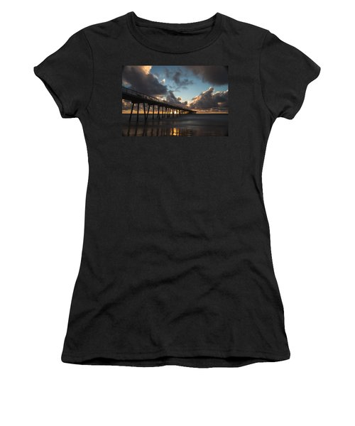 Misty Sunset Women's T-Shirt