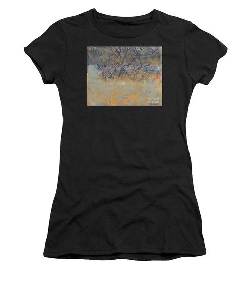 Misty Trees Women's T-Shirt (Athletic Fit)