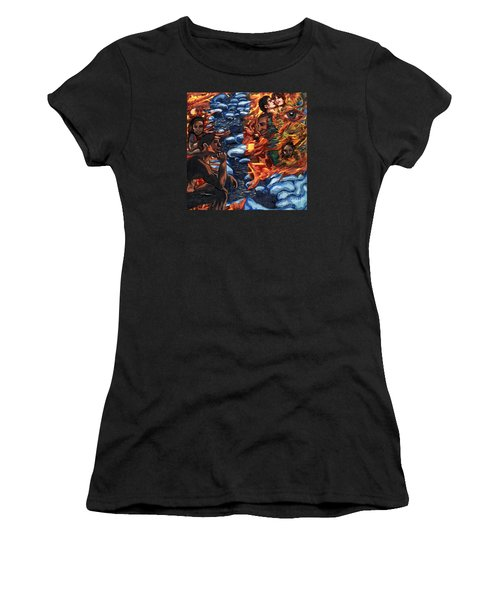 Mitosis Microbiology Landscapes Series Women's T-Shirt (Athletic Fit)