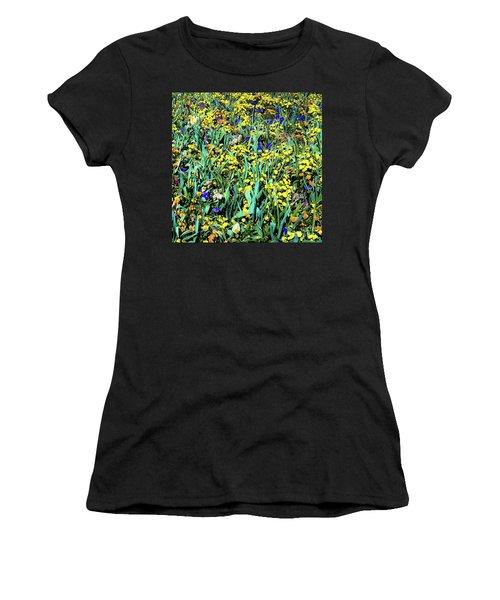 Mixed Flower Garden 515 Women's T-Shirt